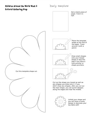Doily instructions