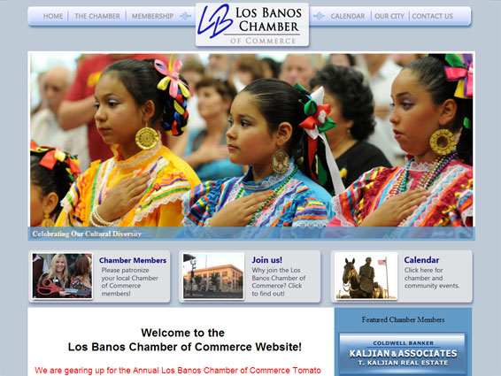 Los Banos Chamber of Commerce Website