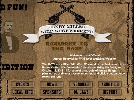 Henry Miller Wild West Weekend