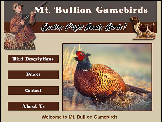 Mt. Bullion Gamebirds